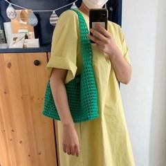 젤리 숄더백 코바늘 가방 DIY키트
