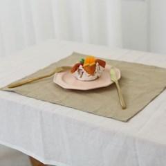심플 퓨어 린넨 키친크로스-3컬러 식탁매트 테이블매트