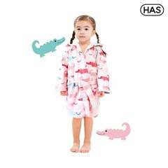 [HAS] 아동 비치가운_핑크 크로커다일