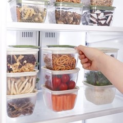 찰진밥맛 전자렌지 냉동밥 보관용기 400ml 10set
