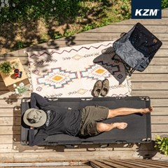 카즈미 와이드 플립 코트 K20T1C029 / 야전침대 감성 캠프코트