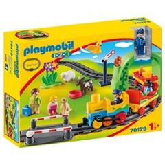 플레이모빌 1.2.3 마이 퍼스트 기차세트 70179