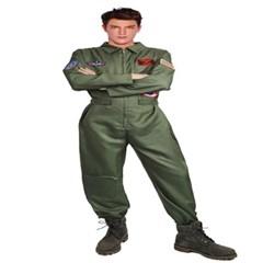 조종사 파일럿 슈트 조종복 공군 코스프레 Pilot Suit