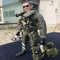 조종사 파일럿 피규어 전투기 공군 에어포스 탑건