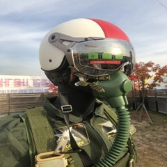 전투기 조종사 조종복 기어 셋트 리프로덕션 ver