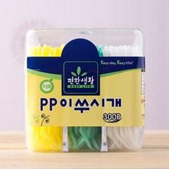 300p 롯데 편한생활 이쑤시개(PP사각) (6cm)