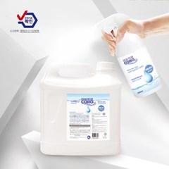 닥터코로 고수준 살균소독제 친환경 생활방역 리필, 4L, 1개