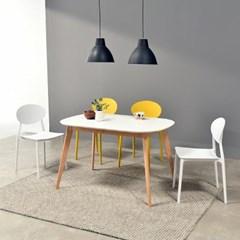 [폴앤코코] 베일리 1200 라운드 식탁 테이블 화이트_(1069557)