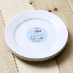 10p 롯데 이라이프 다회용 위생접시(18cm)