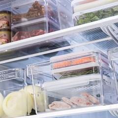 투명 저안 냉장고 정리 멀티 트레이 (3규격)