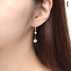 14K 큐빅 원터치 귀걸이 (gold pin) ELGPEE314_(1030242)