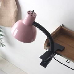 핑크 레트로 크랩 램프(집게등)