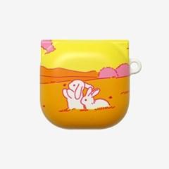 바니 바니 (Bunny Bunny) 버즈프로 버즈라이브 케이스