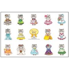 페르시안 고양이 루미 프린세스버전 (DIY 패브릭 45X68cm)