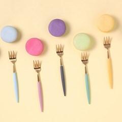 J TABLE 소소망고 골드 커트러리 티타임 (12colors)_(2014192)