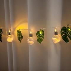 LED 스노우플라워가렌드 180cmR 조화 인테리어 FMWGFT_(1855548)