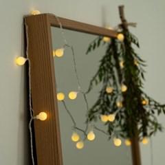 크리스마스 벽트리 LED 트리 앵두 눈꽃 전구