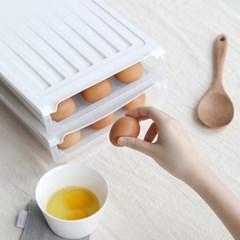 에그트레이 계란보관함 에그홀더 냉장고 정리함_(1355607)