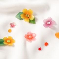 슈링클 꽃모양 마술종이