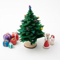 부직포 크리스마스 트리 만들기
