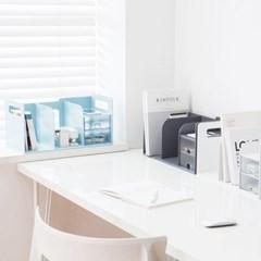 서랍 책꽂이 다용도 인테리어 사무실 책상 정리함