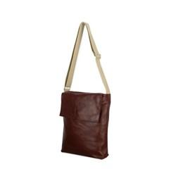 포스트백 [Leather Brown]