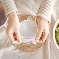주방 실리콘 접시 뚜껑 덮개 음식 랩
