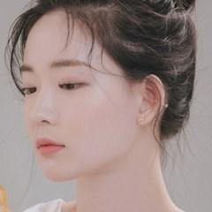 [925실버]로베르 천연탄생석 귀걸이_10월 오팔
