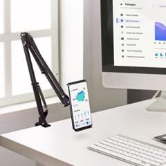 엑토 탄소강 침대 태블릿 스마트폰 자바라 거치대 MST-38
