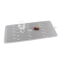 주방 실리콘 드라잉 매트(44.5cm) (그레이)