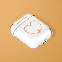 Heart Together Orange 에어팟/에어팟프로 케이스
