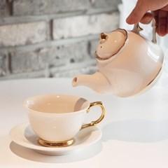 1인 찻잔 세트(티팟+커피잔)