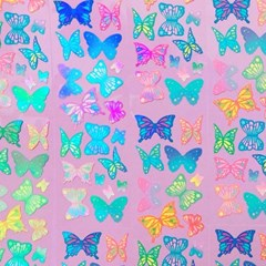 빛나는 팔랑팔랑 나비 칼선 스티커