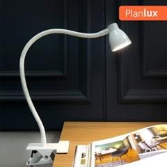 플랜룩스 민코 집게 LED스탠드 USB 클립스탠드