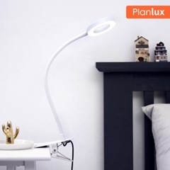 플랜룩스 링코 집게 LED스탠드 USB 클립스탠드