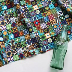 [Fabric] 스테인글라스 84개조각패치 코튼
