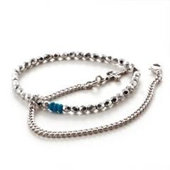 [세트상품] SVB - #228 Bead Chain Layered Bracelet