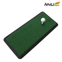 엔포유 골프매트 N4U-GM001 스윙 연습 잔디매트