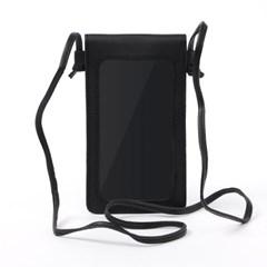 로즐리 스마트폰 터치 크로스백(블랙)