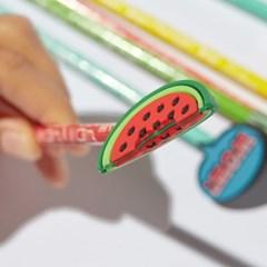 빅키드 실리콘 패치 연필 (6종) 연필캡 Scented Pencil