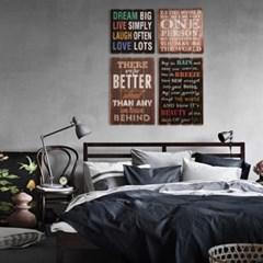 인테리어 레트로 나무 벽 포스터_(245364)