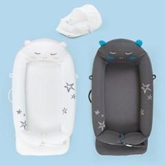아이팜 별곰이 아기침대 모기장세트 신생아침대 휴대용아기침대