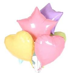 18인치 캔디 핑크 하트 풍선