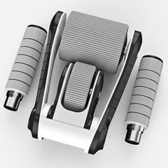 홈 트레이닝 2휠 롤링 슬라이드 복근운동기구