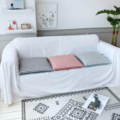 팜데코 마린 쇼파 의자 방석 50x50