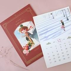 2021 빨간머리앤 벽걸이 달력 (B4,포스터 캘린더)