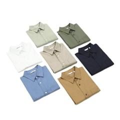 가을 남성 Laine 레인 남친룩 세미 오버핏 캐주얼 컬러 셔츠남방