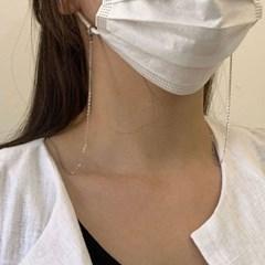 [1+1] 써지컬스틸 체인 마스크 스트랩 목걸이