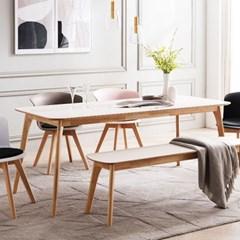 채우리 스티밍 HPM 사각 6인 식탁 테이블