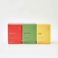 베러댄알콜 티박스 선물세트(진녹색 가방 포장)